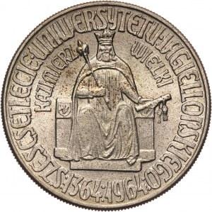PRL, 10 złotych 1964, Warszawa, Kazimierz Wielki, bez napisu PRÓBA