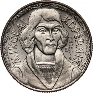 PRL, 10 złotych 1967, Mikołaj Kopernik, PRÓBA, miedzionikiel