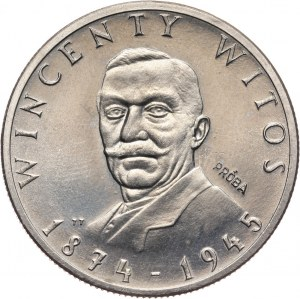 PRL, 100 złotych 1984, Wincenty Witos, PRÓBA, miedzionikiel