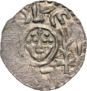 Bolesław III Krzywousty jako książę śląski 1097-1107, denar, Wrocław