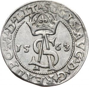 Zygmunt II August, trojak 1563, Wilno