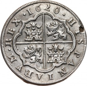 Hiszpania, Filip III, 8 reali 1620, Segowia