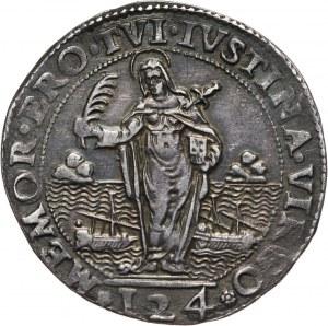 Włochy, Wenecja, Pasquale Cicogna 1585-1595, 124 soldi (ducato) bez daty