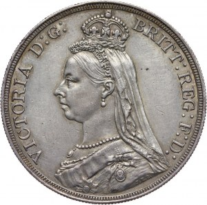 Wielka Brytania, Wiktoria, korona 1888