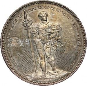 Szwajcaria, 5 franków (talar strzelecki) 1879, Bazylea