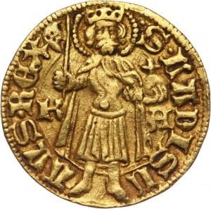 Węgry, Maciej Korwin 1458-1490, goldgulden bez daty, Kremnica