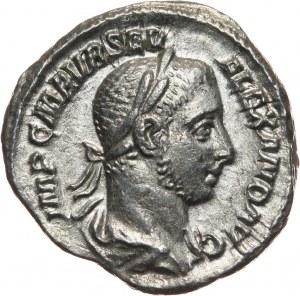 Cesarstwo Rzymskie, Aleksander Sewer 222-235, denar, Rzym