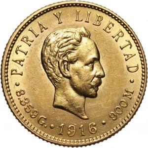 Kuba, 5 pesos 1916