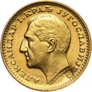 Jugosławia, Aleksander I, dukat 1931, kontramarka - ptaki