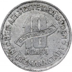 Getto w Łodzi, 10 marek 1943, Łódź, aluminium