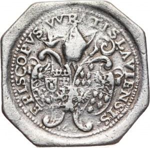 Śląsk, Księstwo Nyskie, Karol Ferdynand Waza (1625-1655), talar (klipa ośmiokątna) 1632, Wrocław