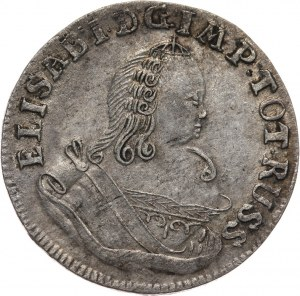 Rosja, Elżbieta, szóstak 1760, Królewiec