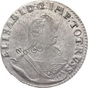 Rosja, Elżbieta, szóstak 1761, Królewiec