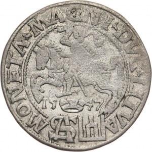 Zygmunt II August, grosz litewski na stopę polską 1547, Wilno