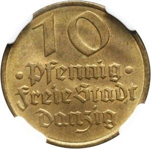 Wolne Miasto Gdańsk, 10 fenigów 1932, Berlin