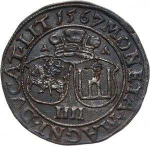 Zygmunt II August, czworak 1567, Wilno
