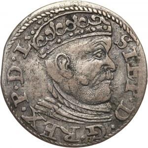 Stefan Batory, trojak 1584, Ryga