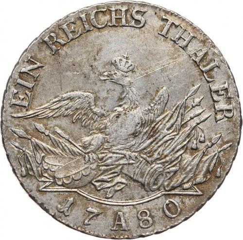 Niemcy, Brandenburgia-Prusy, Fryderyk II, talar 1780 A, Berlin