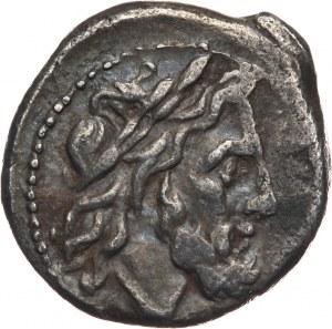 Roman Republic, anonymous victoriatus, 211-206 BC, Rome