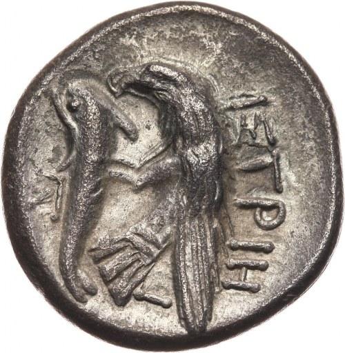 Grecja, Moesia, Istros, drachma IV wiek p.n.e.