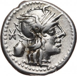 Roman Republic, C. Cassius Longinus 126 BC, Denar, Rome