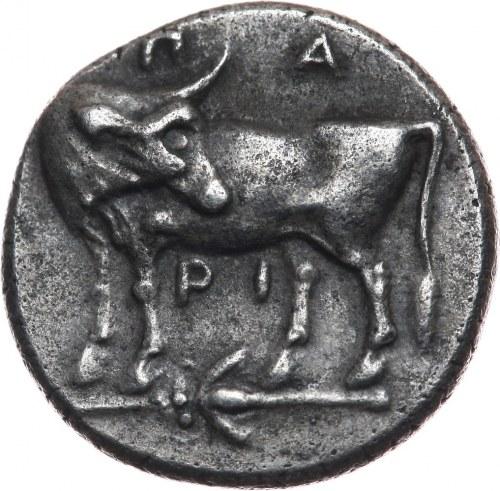 Grecja, Myzja, Parion, hemidrachma VI wiek p.n.e.
