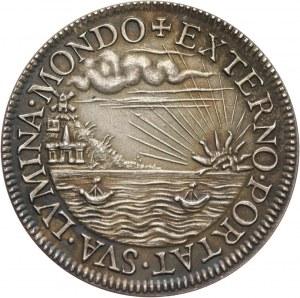 Henryk Walezy, XIX wieczna odbitka (ok. 1880) medalu koronacyjnego z 1573 roku wybitego we Francji