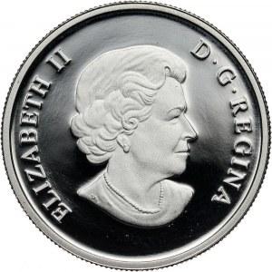 Kanada, Elżbieta II, 300 dolarów 2009, Bizon
