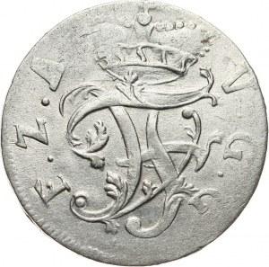 Niemcy, Anhalt-Bernburg, Wiktor Fryderyk, 1/6 talara 1758, Bernburg