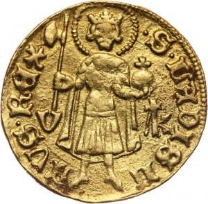 Węgry, Zygmunt Luksemburski 1387-1437, goldgulden bez daty, Offenbánya