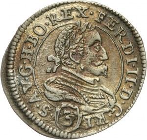Austria, Ferdynand II, 3 krajcary 1633, Graz