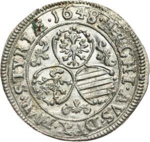 Austria, Ferdynand III, 3 krajcary 1648, Graz