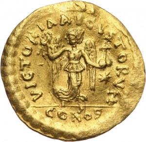 Bizancjum, Anastazjusz 491-518, tremissis, Konstantynopol