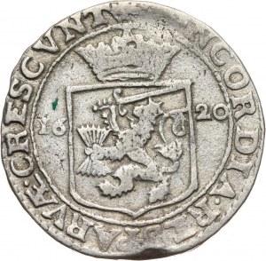 Niderlandy, Fryzja Zachodnia, 1/2 rijksdaalder 1620