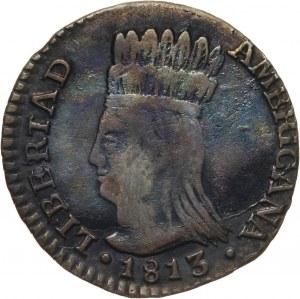 Kolumbia, Nowa Granada, real 1813 JF