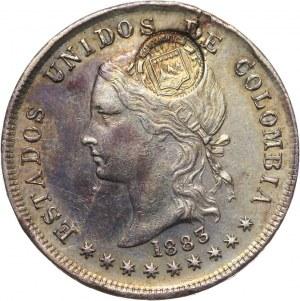 Kostaryka, 50 centavos 1883