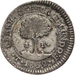 Honduras, real 1832 TF