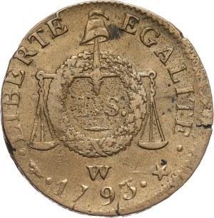 Francja, Republika, sol 1793 W, Lille