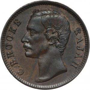 Sarawak, Rajah Charles J. Brooke, cent 1889 H