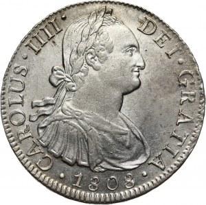 Meksyk, Karol IV, 8 reali 1808 Mo-TH