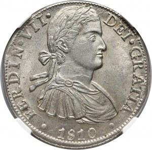 Meksyk, Ferdynand VII, 8 reali 1810 Mo-TH