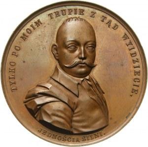XIX wiek, medal z 1860 roku, Tadeusz Rejtan