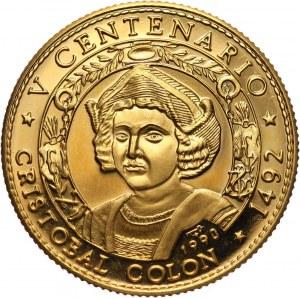Kuba, 50 pesos 1990, 500 lecie Odkrycia Ameryki, Ferdynand V