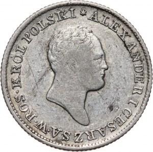 Królestwo Kongresowe, Aleksander I, 1 złoty 1824 IB, Warszawa