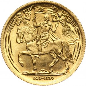 Czechosłowacja, dukat medalowy 1929/1973, Millenium