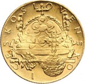 Czechosłowacja, dukat medalowy 1972, Klejnoty koronne