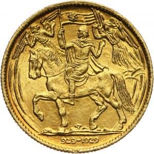Czechosłowacja, dukat medalowy 1929, Millenium