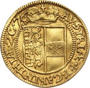 Austria, arcyksiążę Karol, dukat 1576, Klagenfurt