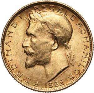 Rumunia, Ferdynand I, 20 lei 1922, Londyn
