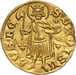 Węgry, Zygmunt Luksemburski 1387-1437, goldgulden bez daty, Koszyce